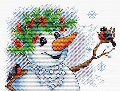 Набор для вышивания МП Студия М-354 Снежная история набор для вышивания мп студия м 354 снежная история