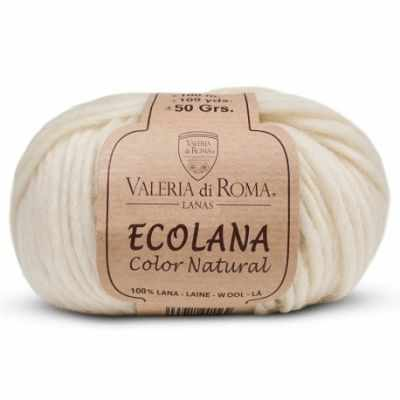 Пряжа Valeria di Roma Пряжа Valeria di Roma Ecolana Цвет.003 Молочный