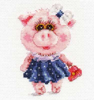 0-183 Свинка Тося