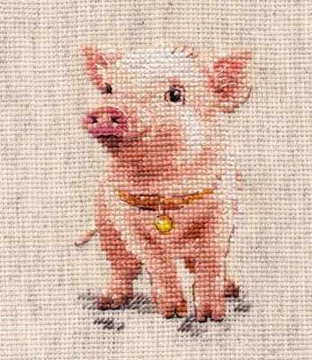 Набор для вышивания Алиса 0-185 Хрюша