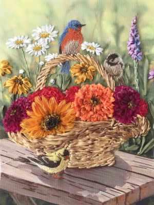 Купить со скидкой КЛ(н) 4006 Песня цветов - набор (Каролинка)