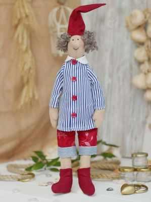 Набор для изготовления игрушки HappyMade Ш034 Набор для шитья и рукоделия Гном Билл