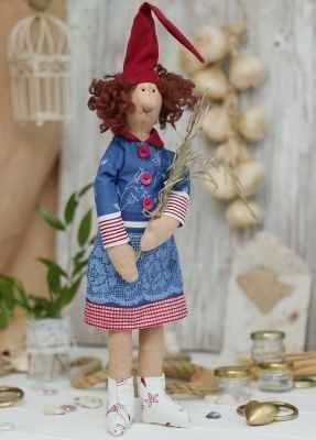 Набор для изготовления игрушки HappyMade Ш035 Набор для шитья и рукоделия Гномочка Тереза