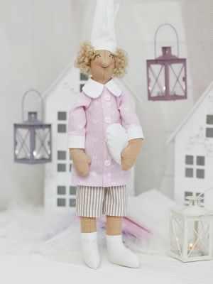 Набор для изготовления игрушки HappyMade Ш041 Набор для шитья и рукоделия Гномочка Лили