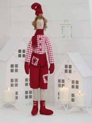 Набор для изготовления игрушки HappyMade Ш044 Набор для шитья и рукоделия Эльф Николя