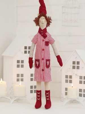 Набор для изготовления игрушки HappyMade Ш045 Набор для шитья и рукоделия Эльфочка Галла
