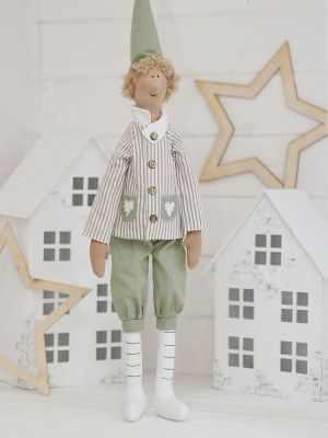 Набор для изготовления игрушки HappyMade Ш046 Набор для шитья и рукоделия Эльф Кристиан