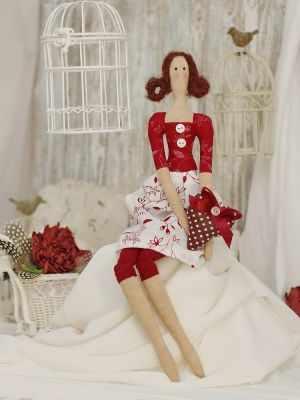 Набор для изготовления игрушки HappyMade Ш048 Набор для шитья и рукоделия Мадемуазель Хелен