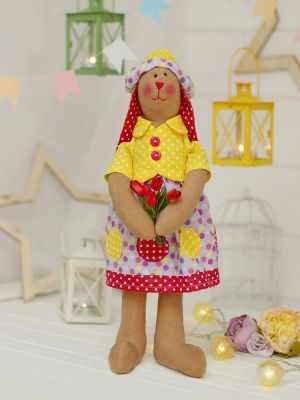Набор для изготовления игрушки HappyMade Ш061 Набор для шитья и рукоделия Зайка Патриссия