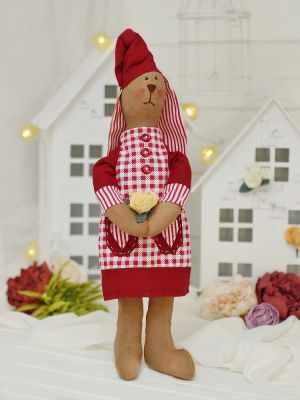 Набор для изготовления игрушки HappyMade Ш071 Набор для шитья и рукоделия Зайка Вирджиния набор для творчества цветница набор для шитья текстильной игрушки зайка романтик