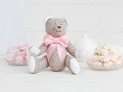 Набор для изготовления игрушки HappyMade Ш093 Набор для шитья и рукоделия Мишутка Ванилька