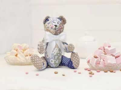 Набор для изготовления игрушки HappyMade Ш095 Набор для шитья и рукоделия Мишутка Прянюшка