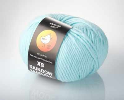 Пряжа RAINBOW BIRD XS RAINBOW WOOL Цвет.Clear Water