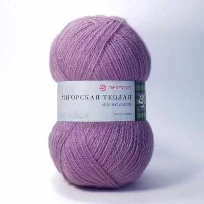 Пряжа Пехорка Пряжа Пехорка Ангорская теплая Цвет.29 Розовая сирень