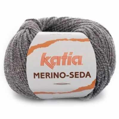 Пряжа Katia Пряжа Katia Merino-Seda Цвет.1091.64 серый