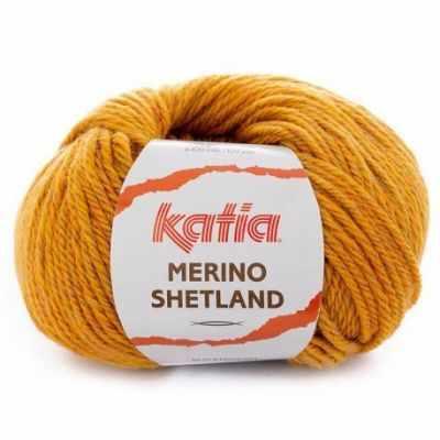 Пряжа Katia Пряжа Katia Merino Shetland Цвет.1094.101 горчица
