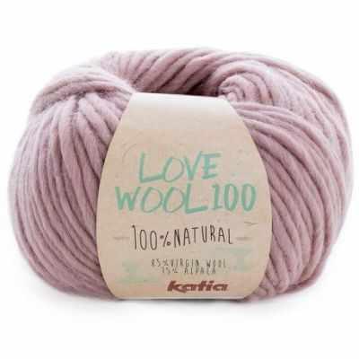 Пряжа Katia Пряжа Katia Love Wool Цвет.1098.202 роз.туман