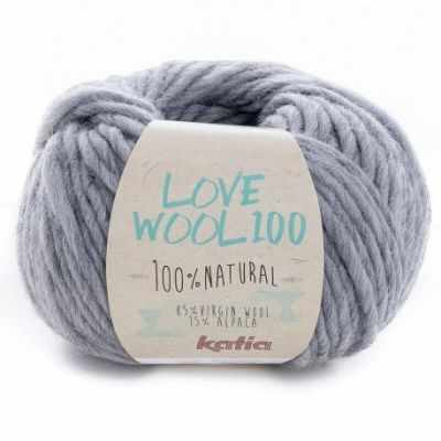 Пряжа Katia Пряжа Katia Love Wool Цвет.1098.205 серый