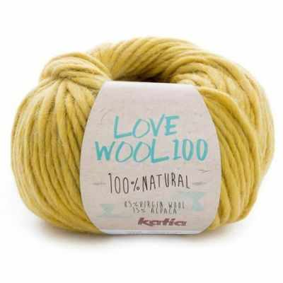 Пряжа Katia Пряжа Katia Love Wool Цвет.1098.208 липа