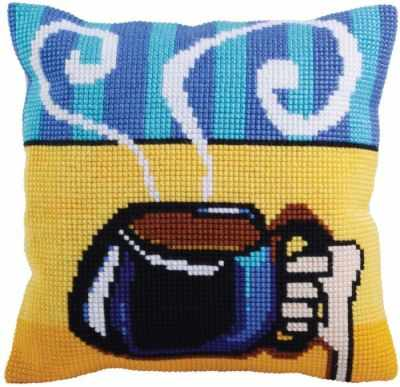 набор для вышивания Collection D`Art 5280 Подушка для вышивания (Белая)
