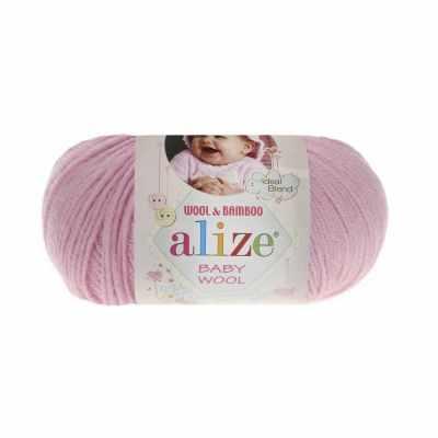 Пряжа Alize Пряжа Alize Baby Wool Цвет.185 Розовый