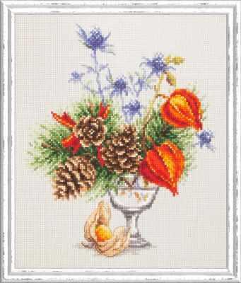 Фото - Набор для вышивания Чудесная игла 100-001 Зимний букетик чудесная планета земля