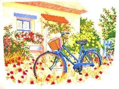 "14-153 ""Голубой велосипед"""