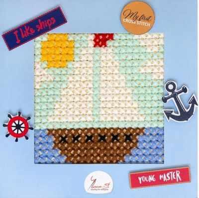 Набор для вышивания Luca-S X010 Кораблик