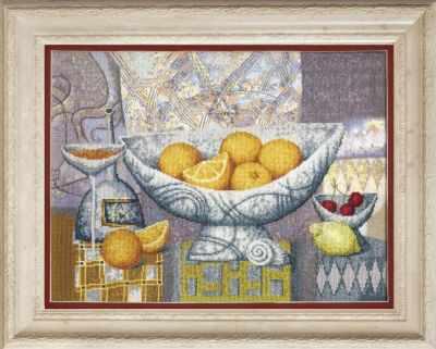 Набор для вышивания Чарiвна Мить РК-133 Апельсины, созревшие в теплых лучах солнца набор для вышивания чарiвна мить рк 102 пепел