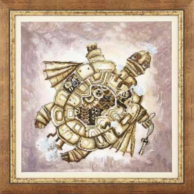 Набор для вышивания Чарiвна Мить РК-135 Золотая черепаха набор для вышивания чарiвна мить рк 102 пепел