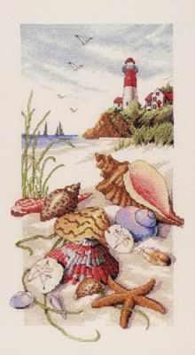 Набор для вышивания Classic Design 4455 Морские сокровища