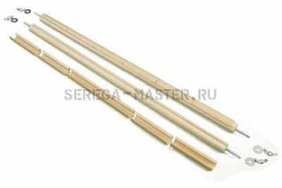 Станок для вышивания Серёга-Мастер Планки горизонтальные с клипсами-55 ПГК
