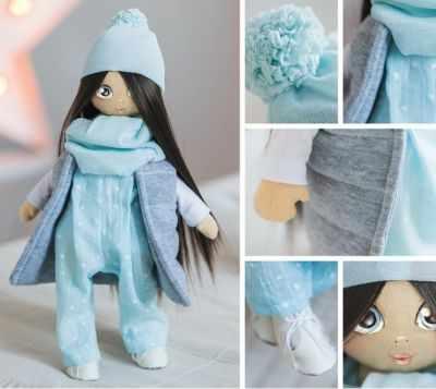 Набор для изготовления игрушки Арт Узор 3299320 Набор для шитья «Мягкая кукла Молли»