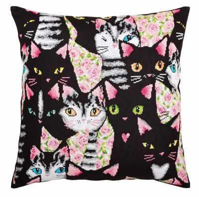 Набор для вышивания РТО CU053 Найди влюбленного кота