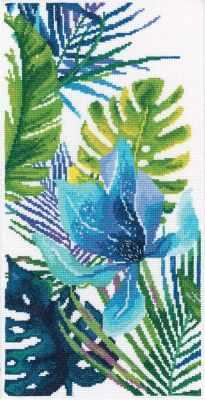 Набор для вышивания РТО M747 Голубой цветок
