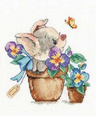 Набор для вышивания РТО C315 И все-таки я цветок