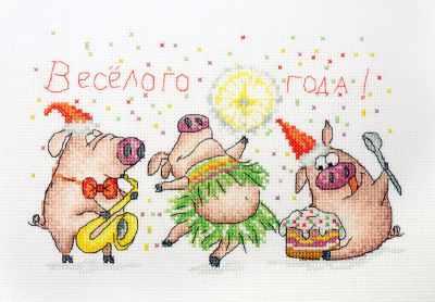 Фото - Набор для вышивания Марья искусница 01.033.30 Веселый праздник набор для вышивания марья искусница 11 001 12 глинтвейн