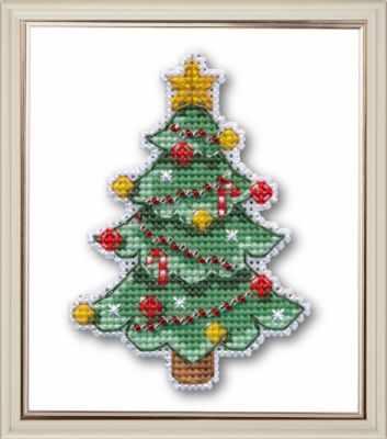 Набор для вышивания Овен 1128 Новогодняя елочка аппликация новогодняя елочка