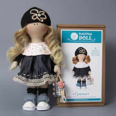 Набор для изготовления игрушки Pugovka Doll Набор Грета, 35 см