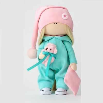 Набор для изготовления игрушки Арт ткани Набор для пошива текстильной куклы