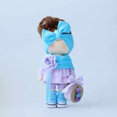 Набор для изготовления игрушки Арт ткани Набор для создания текстильной куклы