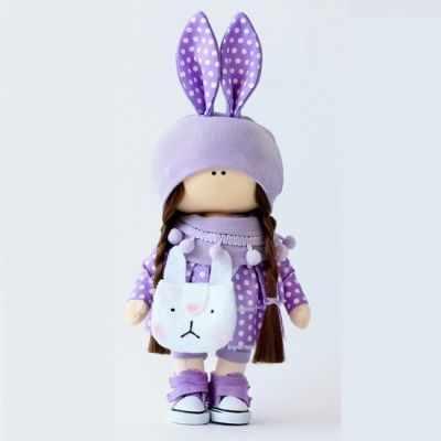 Набор для изготовления игрушки Арт ткани Набор для шитья текстильной куклы Лили набор для творчества цветница набор для шитья текстильной игрушки зайка романтик