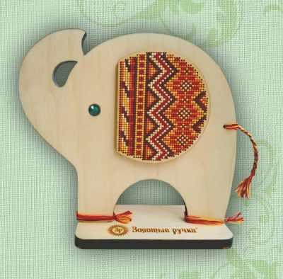 Набор для вышивания Золотые ручки МД-002 Африканский слон