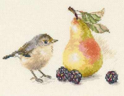 5-23 Птичка и груша
