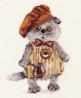 Набор для вышивания Алиса 0-181 Басик бариста