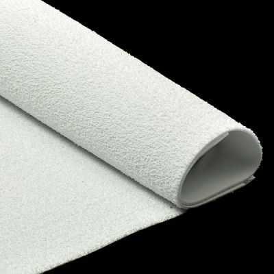 УТ100011008 Фоамиран махровый 2 мм 20х30см, цв.036 белый