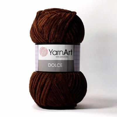 Пряжа YarnArt Пряжа YarnArt Dolce Цвет. 775 Шоколад
