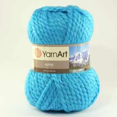 Пряжа YarnArt Пряжа YarnArt ALPINE Цвет.339 Голубая бирюза