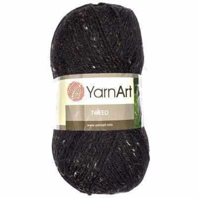 Пряжа YarnArt Пряжа YarnArt TWEED YARNART Цвет.228 Черный