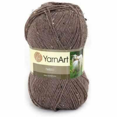 Пряжа YarnArt Пряжа YarnArt TWEED YARNART Цвет.229 Коричневый